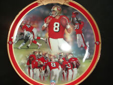 STEVE YOUNG 1997 Bradford Exchange Limited Plate The Game's Greatest