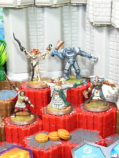 Heroscape Heroes of Trollsford - Major X17, Morsbane, Parmenio, Sudema, Valguard