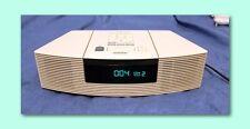 New listing Mint Bose Wave Cd Player Am/Fm Radio Alarm Clock Platinum White Awrc1P