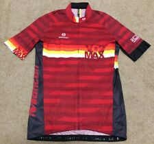 Monton Pro Vo2 Max Rce Bike Maillot Cyclism Cycling Jersey Shirt Top Men's Sz L