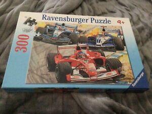 VERY RARE RAVENSBURGER 300 PIECE JIGSAW PUZZLE FORMULA 1 RACING NO.13 1181