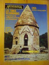 Archéologia n°87 octobre 1975 Les Turcs Seldjoukides