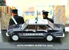 MODELLINO AUTO ALFA ROMEO ALFETTA CARABINIERI SCALA 1/43 COLLEZIONE MODELLISMO