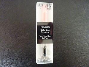 Revlon ColorStay Overtime Lipcolor - FOREVER PINK  #410 - Brand New / Boxed