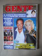 GENTE n°31 1989 Maria Giovanna Elmi - C'era una volta Sanremo  [G236]*