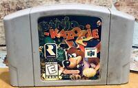 Banjo Kazooie Authentic Nintendo 64 N64 Retro Vintage Cartridge Game Tested Rare