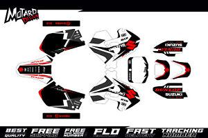 Suzuki RM 125 250 1999 2000 99 00 Graphics kit Motocross MX Decals Dirtbike