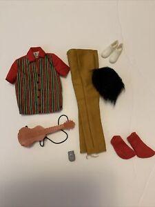 Vintage Barbie KEN Clothes Hard To Find #1423 KEN A GO GO Excellent Condition!