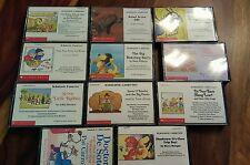 11 scholastic cassettes collection