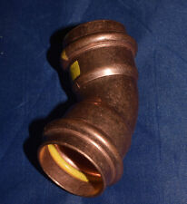 Viega Pressfittings Gas Bogen Cu Viega 28mm 45° (161)