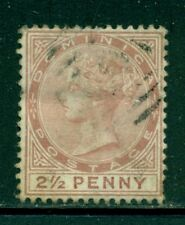 DOMINICA 6 SG6 Used 1879 2&1/2p red brn QVIC Wmk Crown CC Perf 14 Cat$45