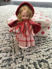 Namcy Ann Storybook Dolls Mother Goose Series Little Red Riding Hood #116