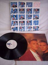 BROS, PUSH, 1988, PHOTO INNER SLEEVE, VERY GOOD+ CONDITION