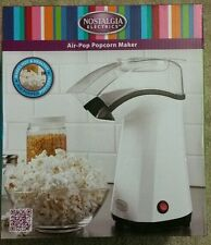 Nostalgia Electrics Air Pop Hot Air Popcorn Popper Machine, Home Popcorn Maker