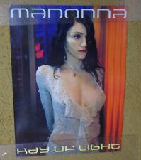 "X Madonna -Ray of Light promo poster-vintage 24 x 18 ""@ -1998"