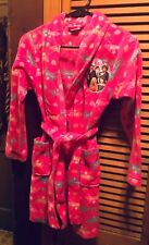 Girls Disney High School Musical Bath Robe Size 10.100% Polyester
