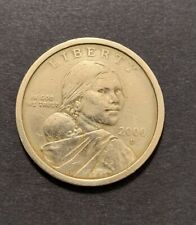 2000 D Native American Indian One Dollars Coin Money Sacagawea US Coins