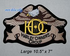 Large Heritage Eagle Patch ~ Harley Davidson Owners Group HOG H.O.G.