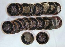1980-s PROOF KENNEDY HALF DOLLAR Roll 20 Coins