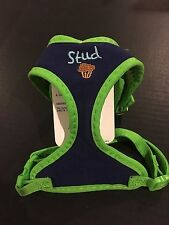 Top Paw Stud Muffin X-Small Embroidered Soft Fabric  Dog Harness