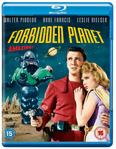 Forbidden Planet [1956] (Blu-ray) Walter Pidgeon, Leslie Nielsen, Anne Francis