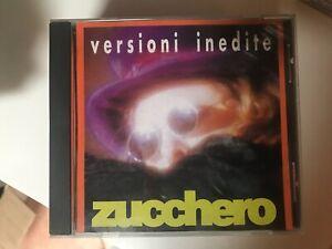 ZUCCHERO VERSIONI INEDITE CD MUSICALE VERSIONE EDITORIALE ☆