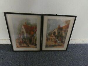 Pair of Vernon Ward Framed Prints