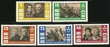 Germany East DDR GDR 1963 MNH 150th Anniv War of Liberation Bluecher Soldiers