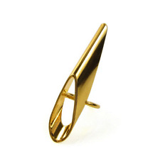 Laruicci Tiger Claw Ring Gold Plated