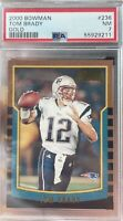 2000 Bowman #236 Tom Brady Patriots Bucs RC Rookie PSA 7 NM 🔥 Beautiful Card