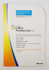 Office 2007 Professional MLK V2 Vollversion 07 Pro Deutsch inkl. Access