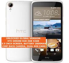 """HTC DESIRE 828 3gb 32gb White Octa Core 13mp Led Flash 5.5"""" Android Smartphone"""