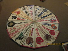 USFL Vintage Defunct Lot of 16 Different Circa 1980's Logo Football Pennants