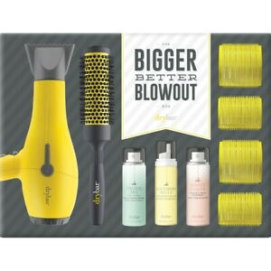 DRYBAR THE BIGGER BETTER BLOWOUT BOX BUTTERCUP BLOW-DRYER KIT BRAND NEW IN BOX