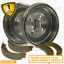 Seat Marbella 900cc Box 0.9 CAT 39 Rear Brake Shoes Drums 185mm Fiat Sys