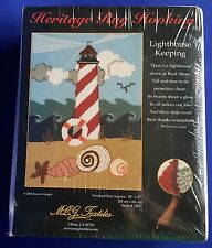 Lighthouse Latch Hook Kit Pillow 20 X 27 Nantucket Style Hooking Sealed Heritage