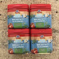 Lot Of 4 McCormick Good Morning Breakfast Seasoning Garden Herb Best By Feb 2019