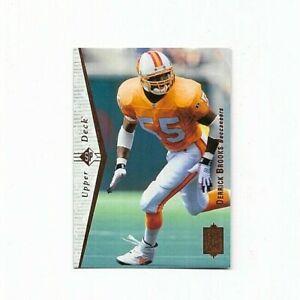 Derrick Brooks Rookie Card 1995 Upper Deck SP #103 NFL Hall Of Famer