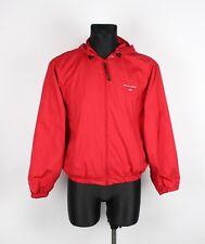 Ralph Lauren Vintage Hooded Men Light Jacket Size M, Genuine