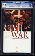 Civil War #1 CGC NM/M 9.8 White Pages