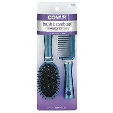 Conair Brush and Comb Set, Color May Vary 1 ea