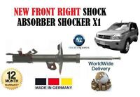 FOR NISSAN XTRAIL 2.0 dCi 2.5 4x4 2007-2013 FRONT RIGHT SHOCK ABSORBER SHOCKER