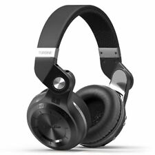 BLUEDIO T2S Turbine Bluetooth 4.1 Wireless Stereo Mic Headphones Headsets Black