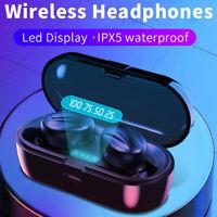 XG-13 Sports Ture Cuffie auricolari Bluetooth 5.0 TWS senza fili con microfono