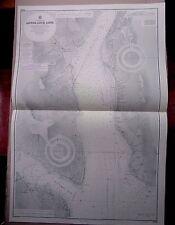 """1972 SCOZIA inferiore Loch Long Mappa Nautica AMMIRAGLIATO grafico 28"""" x 41"""" B02"""