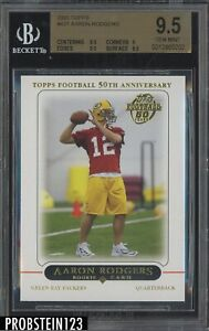 2005 Topps #431 Aaron Rodgers Packers RC BGS 9.5 Gem Mint