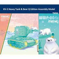 Meng WWP-004s KV-2 Heavy Tank & Bear Q Edition Plastic Assembly Model Kit