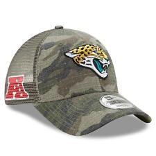 big sale 6febc 42b8f Jacksonville Jaguars New Era Trucker Duel Mesh 9Forty Adjustable hat - Camo