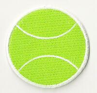 Écusson patche Tennis balle patch brodé transfert thermocollant