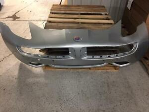 Fisker Karma 2012 Silver Front Bumper Fascia Cover Panel Assembly 02013344